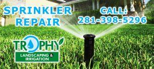 Sprinkler system repair katy
