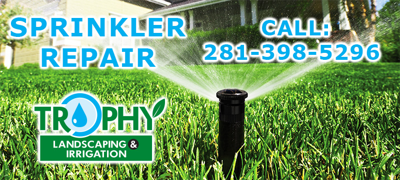 sprinkler repair system katy